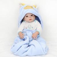 Newborn Boutique Realista Boy Baby Doll Reborn realista baby boy dolls full silicona juego de muñeca 22 pulgadas