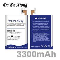 Da Da Xiong 3300 mAh B0P6B100 BOP6B100 Li-Ion Telefon Pil HTC ONE M8 için bir 2 M8 T M8X M8D E8 M8SW M8ST M8SD