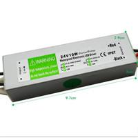 100pcs / lot IP67 24v 12V 20W AC100-240V 입력 전자 방수 Led 전원 공급 장치 / 어댑터 어댑터 무료 페덱스 배송 비용