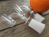 14 мм / 18 мм мужской / женский стеклянный кварцевый гвоздь Ebanger для курения кальян без купола стеклянный гвоздь eNail для 16 мм катушки нагревателя