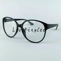 النساء الكبار نظارات نظارات جولة الإطار النظارات الرجعية النظارات الظل العدسات البصرية التجريبي واضح ألوان كثيرة YC024