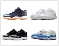 classic 11 Low basketball shoes sneakers 11s navy blue White...