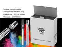 Vape caneta de vaporizador de óleo de cera cigarro eletrônico descartável BUD D1 upgrade bobina de cerâmica 0.5 ml cartucho vazio para Óleo grosso