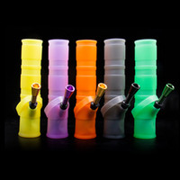 New Smoking silicone bong hookah shisha 265MM Portable Unbre...
