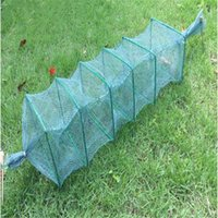 lenght 1m 6section 4 holes fishing net china outdoor pesca s...