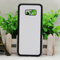 2D DIY Customize Sublimation With Rubber TPU+PC Case S8 Glue S7 Samsung For Plus Edge Inserts Aluminum Blank And Wvmje
