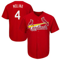 Cardigan pour homme St. Louis Cardigan Yadier Molina Maillot de baseball 2017