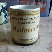 Discolored Cup Harry Potter Cups Magic Color Change Tumbler ...
