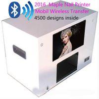 Ahornnageldrucker-Maschinen-Digital-Blumendrucker-beweglicher drahtloser Übergangsnageldrucker 4500 entwirft innerhalb DHL oder EMS