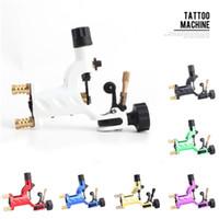 Doublure de shader de machine de tatouage rotatoire de libellule 7 couleurs assorties de kits de pistolet à moteur de Tatoo pour des artistes