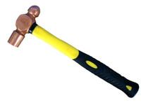 Rame rosso sfera Peen Hammer, 0.22kg / martelli 0,5 libbre Archetti, strumento di sicurezza.