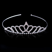 Hot Sale Beautiful Shiny Crystal Bridal Tiara Party Pageant ...