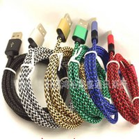 2A Braided Fabric Micro USB Cable 1M 2M 3M Charger Data Sync...