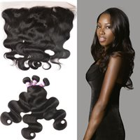 Badshop Body Wave 13x4 Ear To Ear Lace Frontal Closure With ...