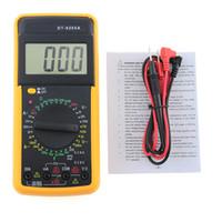 디지털 DT9205A 멀티 미터 LCD AC / DC 전류계 저항 커패시턴스 테스터