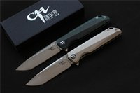 Free shipping, NEW CH3507 Flipper folding knife M390 Blade ba...