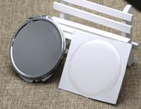 거울 소형 DIY 키트 - Dia.65mm 컴팩트 미러 빈 포켓 접이식 미러와 에폭시 스티커 5 개 / 많은