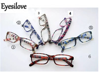 15pcs / lot gafas de lectura coloridas 6 lentes de colores potencia de +1.00 a +4.00 aceptan orden mezclada