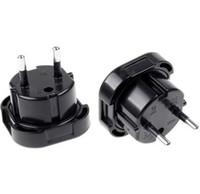 Ny Storbritannien till EU Europe European Universal Travel Charger Adapter Plug Converter 2 Pin Wall Plug Socket