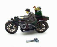 Cartoon Winding-upTin Mototcycle, fer Tricycle, Creative Nostalgique Jouet, Accessoires, Party Kid » Cadeaux d'anniversaire, collecte, décoration
