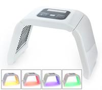DHL 4 색 LED 광역학 마스크 스킨 레 쥬베 네이션 광자 PDT 안티 에이징 스파