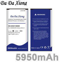 بطارية داودكسيونج 5950mAh EB-BN910BBE لهاتف Samsung Galaxy Note 4 NFC