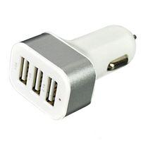 Universal 3 usb ports auto ladegerät adapter ladeadapter für iphone 5 6 6 s für samsung galaxy s5 hinweis 4 xiaomi telefon usb ladegerät om-cf7