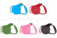 New 3m Retractable Dog Leash Lead One- handed Lock Training P...
