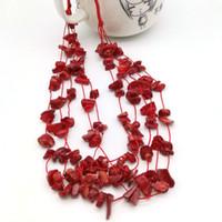 Ursprüngliches neue Weinlese-böhmisches Statement Halskette für Frauen Boho Mutil Schichten Naturstein Gem Halskette Weiblicher Partei Schmuck-Geschenk