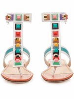 Hot Slingback Gladiators Flats Thong Sandals Ankle Strap Fli...