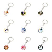 Brand new Anime Keychain Bursting Time Gemstone Silver Keych...