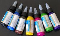 Assorted Color 7colours set 30ML Tattoo Inks Pigment Set 1OZ...