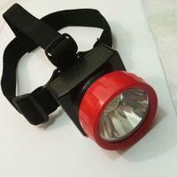 12 unids / lote Nuevo LD-4625 LED inalámbrico LED de minero Faro de la luz de la luz de la luz para la caza al aire libre aventura