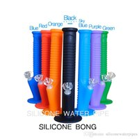 Silicone water pipe 14 inch 2017 multiple colors for choice ...