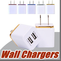High Quality Wall Chargers 5V 2A EU US Plug usb charger adap...
