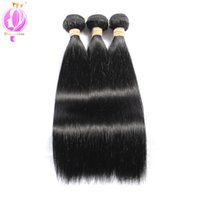 Malaysian Virgin Hair straight 3 Bundles Malaysian Straight ...