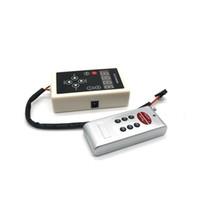 Edison2011 6803 RF Denetleyici 133 Değişim Dijital Rüya Sihirli Renk Kovalayan 6803 ic 5050 RGB Renkli LED Şerit