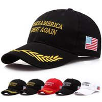 Faites de l'Amérique une nouvelle fois un chapeau Donald Trump républicain réglable casquette MAGA unisexe Snapback Sports Chapeaux Casquettes de Baseball ouc2137