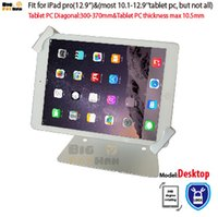 Universal tablet holer security desktop stand for iPad 10. 1-...