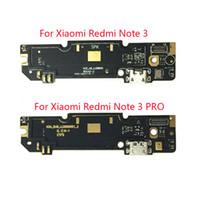 마이크 모듈 + USB 충전 포트 보드 플렉스 케이블 커넥터 부품 Xiaomi Redmi 용 Note 3 / Redmi Note3 Pro Prime 150mm
