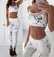 2Pcs Yoga Outfits 2017 NEW Women Sports Wear Mesh Patchwork ...