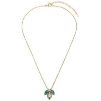 Moda all'ingrosso di gioielli costosi bronzo antico lega gemma d'epoca fascino lungo collana pendente accessori donna per le donne