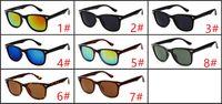 2017 HOT vintage classic sunglasses, high-quality fashion sunglasses, men and women mirror metal sunglasses wholesale