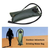 Outdoor sports hydration bags folding dustproof drinking wat...