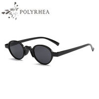 Sıcak Satış Kadınlar Vintage Küçük Oval Güneş Gözlüğü Moda Gözlük Marka Tasarımcı güneş gözlüğü Orijinal Kutusu Ve Kutu Ile UV400