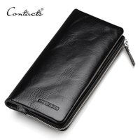 CONTACT' S 2017 New Classical Genuine Leather Wallets Vi...