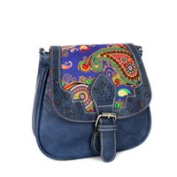 Retro Women Handbag National Shoulder Bag European & America...