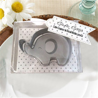 Free Shipment 50pcs Stainless Steel Elephant Cookie Cutter B...