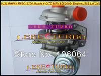 الجملة VJ32 RHF4V VDA10019 RF5C13700 توربو الشاحن التربيني لمازدا 6 CiTD MPV II DI / Premacy 2002- محرك J25S MZRCD LW 2.0L
