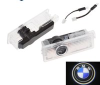 LED Door Warning Light With Logo Projector For BMW E60 E90 F...